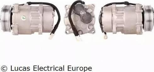 Lucas Electrical ACP120 - Kompresors, Gaisa kond. sistēma autodraugiem.lv