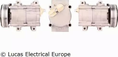 Lucas Electrical ACP171 - Kompresors, Gaisa kond. sistēma autodraugiem.lv