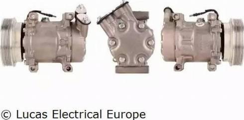 Lucas Electrical ACP178 - Kompresors, Gaisa kond. sistēma autodraugiem.lv