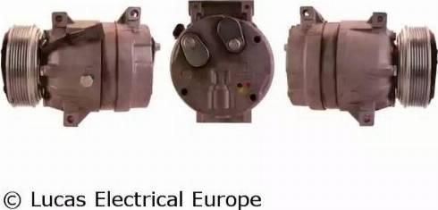 Lucas Electrical ACP862 - Kompresors, Gaisa kond. sistēma autodraugiem.lv
