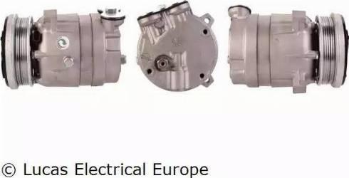 Lucas Electrical ACP203 - Kompresors, Gaisa kond. sistēma autodraugiem.lv