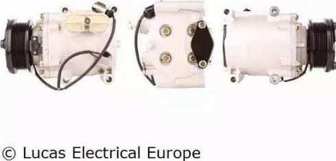 Lucas Electrical ACP270 - Kompresors, Gaisa kond. sistēma autodraugiem.lv