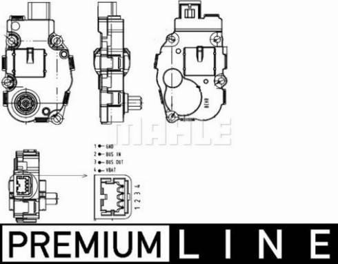 Mahle Original AA 18 000P - Regulēšanas elements, Jaucējkrāns autodraugiem.lv