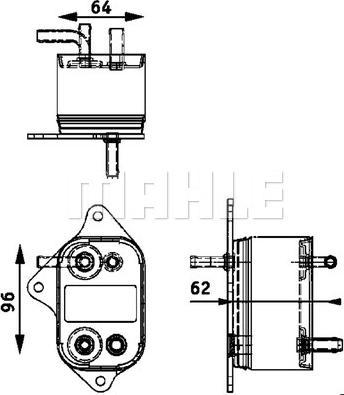 Mahle Original CK 9 000P - Degvielas radiators autodraugiem.lv