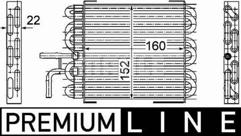 Mahle Original CK 10 000P - Degvielas radiators autodraugiem.lv
