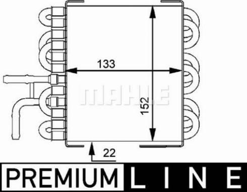 Mahle Original CK 8 000P - Degvielas radiators autodraugiem.lv