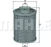 Mahle Original HX5 - Hidrofiltrs, Stūres iekārta autodraugiem.lv