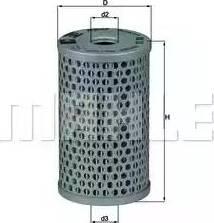 Mahle Original HX15 - Hidrofiltrs, Stūres iekārta autodraugiem.lv