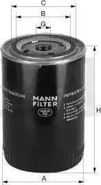 Mann-Filter W712/4 - Filtrs, Hidropacēlāja sistēma autodraugiem.lv