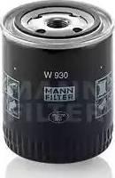 Mann-Filter W930 - Filtrs, Hidropacēlāja sistēma autodraugiem.lv