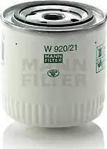 Mann-Filter W920/21 - Filtrs, Hidropacēlāja sistēma autodraugiem.lv
