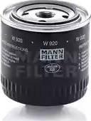 Mann-Filter W920 - Filtrs, Hidropacēlāja sistēma autodraugiem.lv