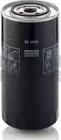 Mann-Filter W 1170 - Hidrofiltrs, Stūres iekārta autodraugiem.lv