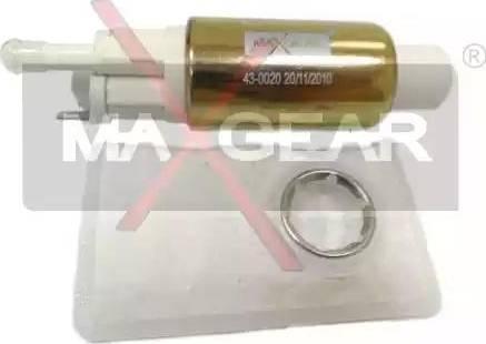 Maxgear 43-0020 - Barošanas sistēmas elements autodraugiem.lv