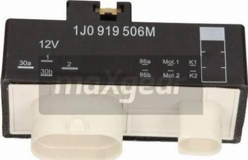 Maxgear 50-0068 - Vadības bloks, Elektroventilators (Motora dzesēšana) autodraugiem.lv