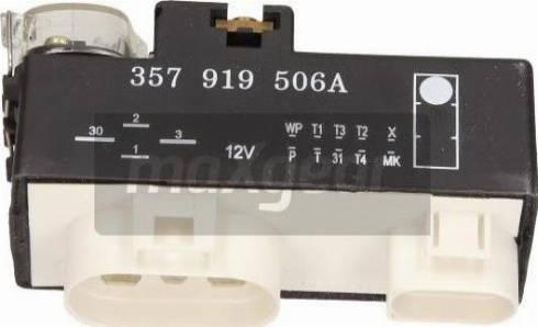 Maxgear 50-0070 - Vadības bloks, Elektroventilators (Motora dzesēšana) autodraugiem.lv