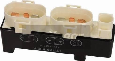 Maxgear 50-0072 - Vadības bloks, Apsilde/Ventilācija autodraugiem.lv