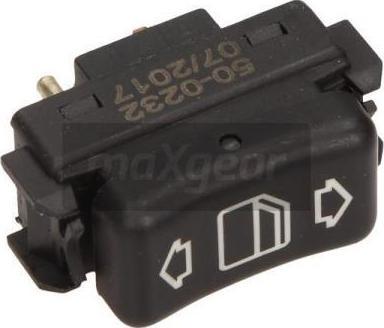 Maxgear 50-0232 - Slēdzis, Stikla pacēlājmehānisms autodraugiem.lv