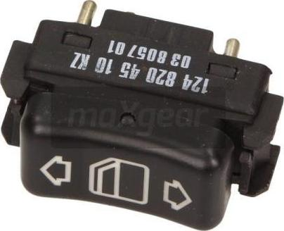 Maxgear 50-0229 - Slēdzis, Stikla pacēlājmehānisms autodraugiem.lv