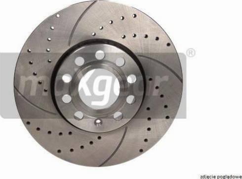 Maxgear 19-2594SPORT - Bremžu diski autodraugiem.lv