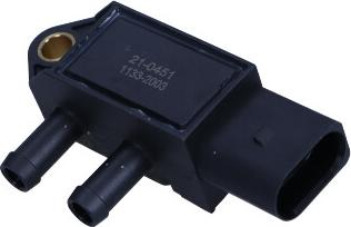 Maxgear 21-0451 - Devējs, Izplūdes gāzu spiediens autodraugiem.lv