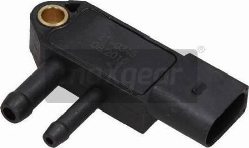 Maxgear 21-0345 - Devējs, Izplūdes gāzu spiediens autodraugiem.lv
