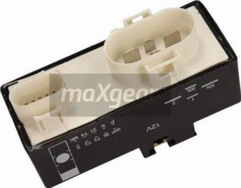 Maxgear 27-0537 - Vadības bloks, Elektroventilators (Motora dzesēšana) autodraugiem.lv