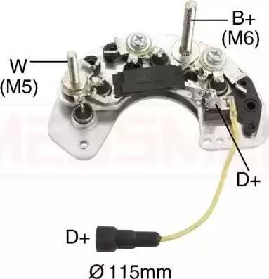 Messmer 215502 - Taisngriezis, Ģenerators autodraugiem.lv