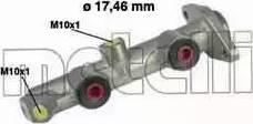 Metelli 05-0081 - Galvenais bremžu cilindrs autodraugiem.lv