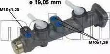 Metelli 05-0020 - Galvenais bremžu cilindrs autodraugiem.lv