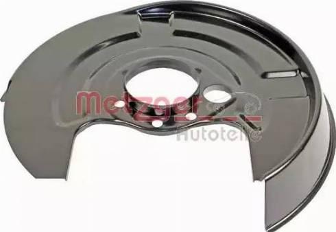 Metzger 6115047 - Dubļu sargs, Bremžu disks autodraugiem.lv