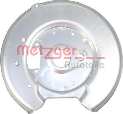 Metzger 6115149 - Dubļu sargs, Bremžu disks autodraugiem.lv