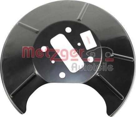 Metzger 6115147 - Dubļu sargs, Bremžu disks autodraugiem.lv