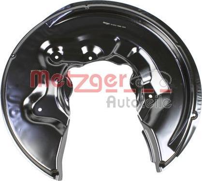 Metzger 6115212 - Dubļu sargs, Bremžu disks autodraugiem.lv