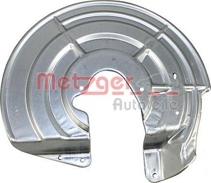 Metzger 6115271 - Dubļu sargs, Bremžu disks autodraugiem.lv