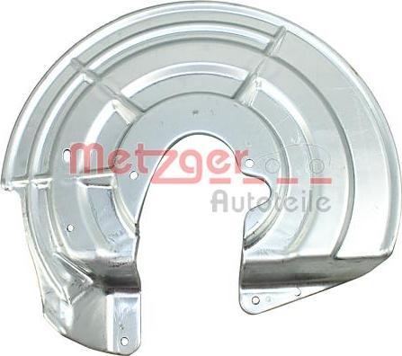 Metzger 6115272 - Dubļu sargs, Bremžu disks autodraugiem.lv