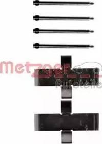 Metzger 109-0945 - Piederumu komplekts, Disku bremžu uzlikas autodraugiem.lv