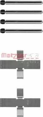 Metzger 109-0902 - Piederumu komplekts, Disku bremžu uzlikas autodraugiem.lv