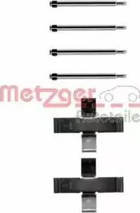 Metzger 109-0925 - Piederumu komplekts, Disku bremžu uzlikas autodraugiem.lv