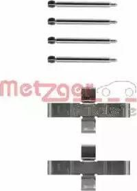 Metzger 109-1004 - Piederumu komplekts, Disku bremžu uzlikas autodraugiem.lv