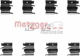 Metzger 109-1244 - Piederumu komplekts, Disku bremžu uzlikas autodraugiem.lv