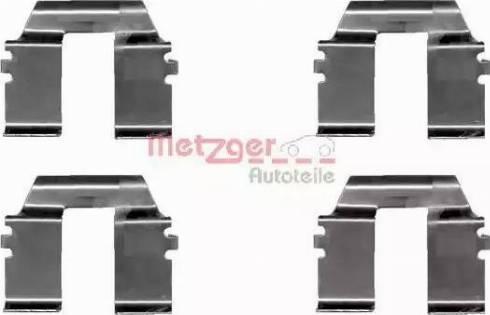 Metzger 109-1232 - Piederumu komplekts, Disku bremžu uzlikas autodraugiem.lv