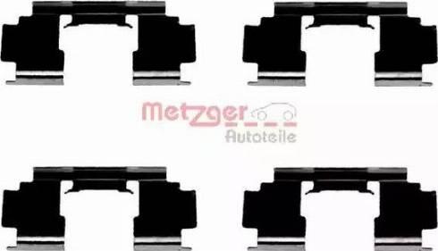Metzger 109-1276 - Piederumu komplekts, Disku bremžu uzlikas autodraugiem.lv