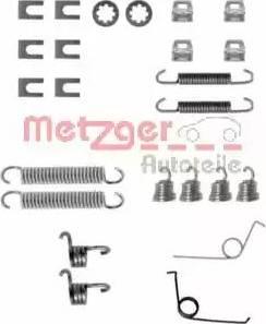 Metzger 105-0545 - Piederumu komplekts, Bremžu loki autodraugiem.lv