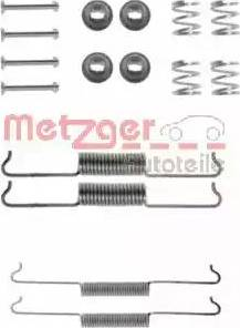 Metzger 105-0521 - Piederumu komplekts, Bremžu loki autodraugiem.lv
