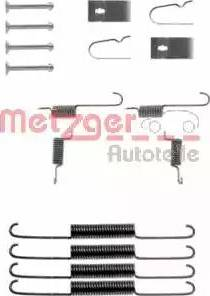 Metzger 105-0664 - Piederumu komplekts, Bremžu loki autodraugiem.lv