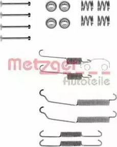 Metzger 105-0618 - Piederumu komplekts, Bremžu loki autodraugiem.lv