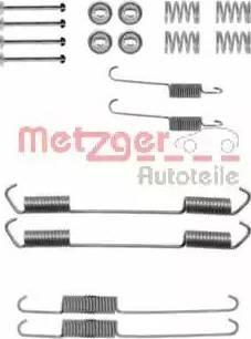 Metzger 105-0689 - Piederumu komplekts, Bremžu loki autodraugiem.lv