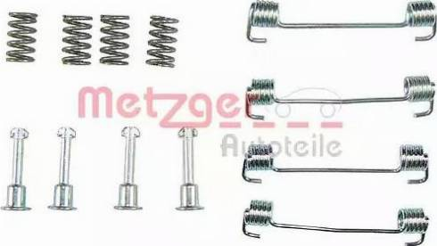 Metzger 105-0620 - Piederumu komplekts, Stāvbremzes mehānisma bremžu loks autodraugiem.lv
