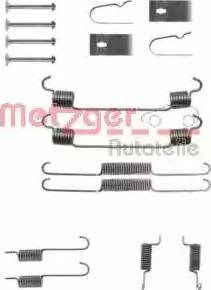 Metzger 105-0675 - Piederumu komplekts, Bremžu loki autodraugiem.lv